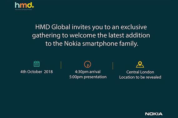 nokia new smartphone october