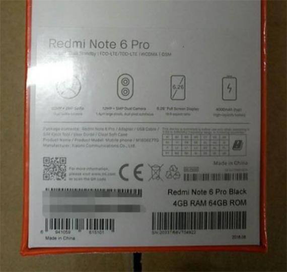 redmi note 6 pro2
