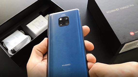 Huawei Mate 20 Pro ελληνικό unboxing video