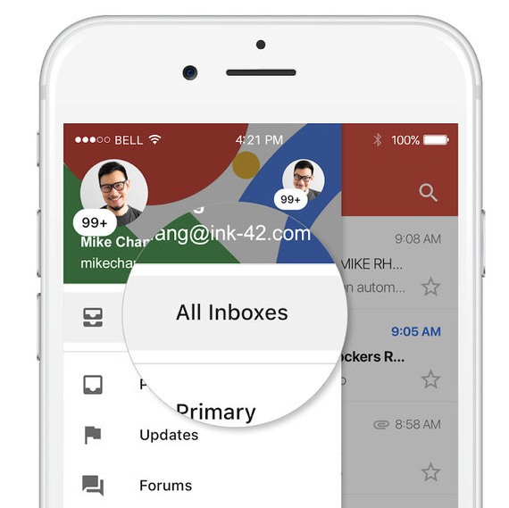 gmail ios update