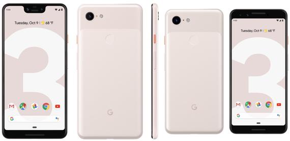 google pixel 3 and pixel 3 xl leak 3