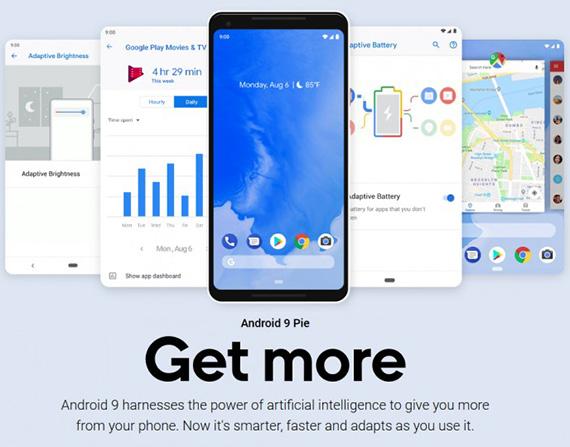 google androidpie