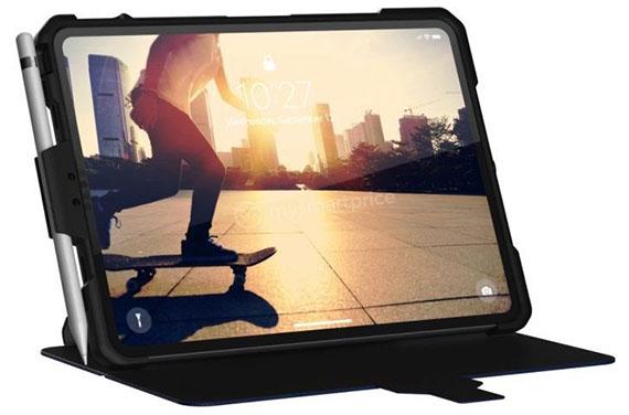 Το iPad Pro 2018 12,9'' με λεπτά bezels διαρρέει για πρώτη φορά σε φωτογραφία μέσα σε θήκη