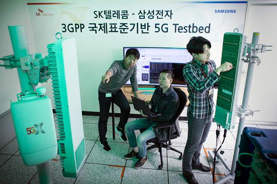 Η σύνδεση στα 5G δίκτυα ξεκινάει μέσω Samsung και SK Telecom επίσημα το Δεκέμβριο στη Νότιο Κορεα;