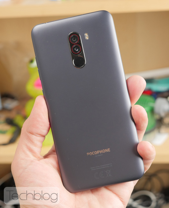Xiaomi Pocophone F1 Techblog hands-on