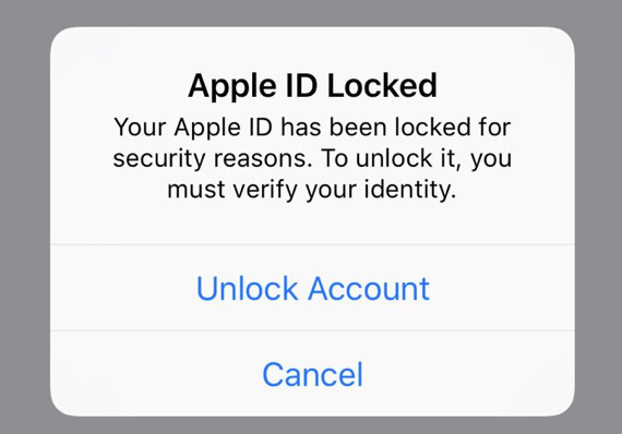 appleID locked