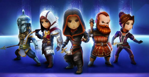 assasins creed rebelion mobile