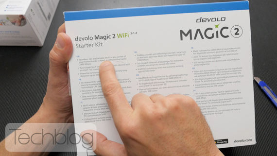 devolo magic 2 unboxing Techblog