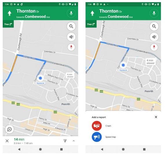 Η Google δοκιμάζει την αναφορά ατυχημάτων στο Google Maps
