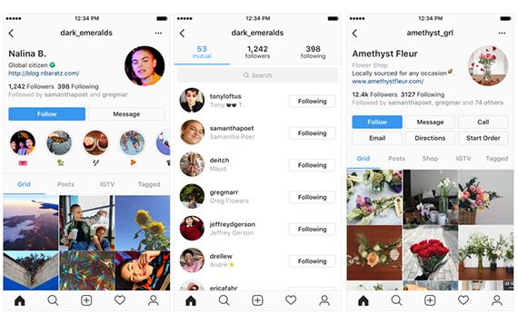 Το Instagram ανακοίνωσε αλλαγές φέρνοντας πιο απλή εμφάνιση στα προφίλ των χρηστών