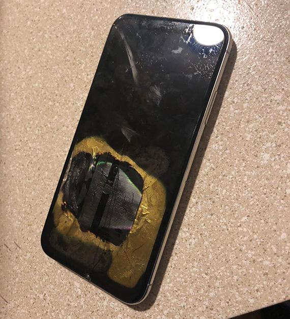 iphonex fire2