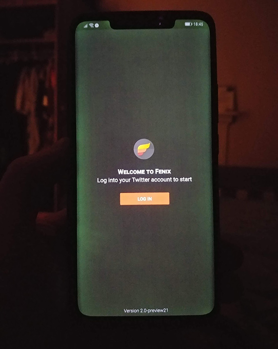 mate20pro screen problem3