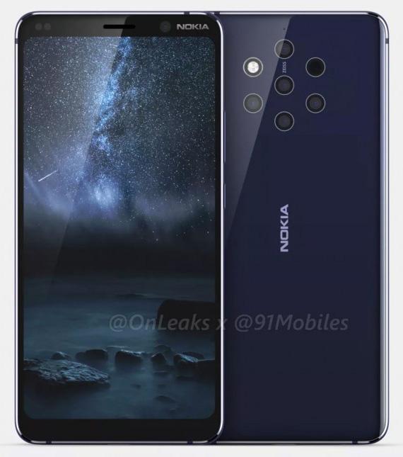 Θήκες του Nokia 9 PureView δείχνουν το τελικό design με τις πέντε κάμερες στο πίσω μέρος;