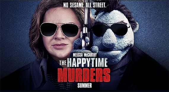 Στην ταινία The Happytime Murders βλέπουμε ανθρώπους και μαριονέτες να συνυπάρχουν