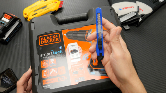 Black&Decker 18V smart tech Unboxing