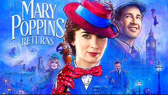 Η αγαπητή σε όλους, Mary Poppins, επιστρέφει μετά απο πολλά χρόνια με νέα ταινία