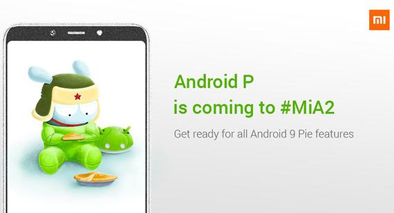 xiaomi MiA2 androidpie