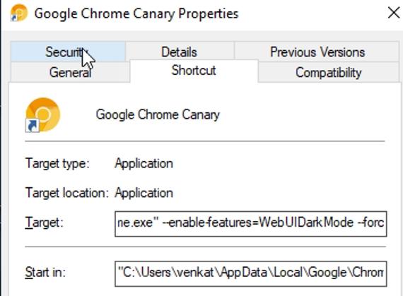 κωδικας για Google Dark Mode 570px