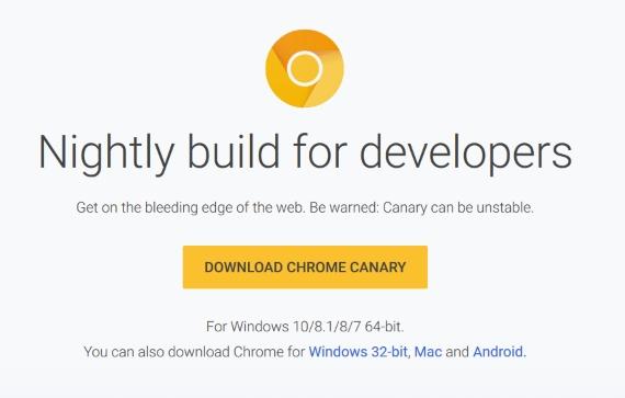 Chrome Canary 570px