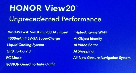 Honor View20 specs 570px