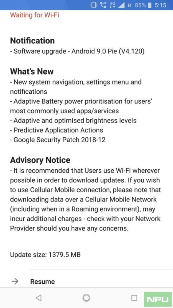 android pie update for nokia 8 570px