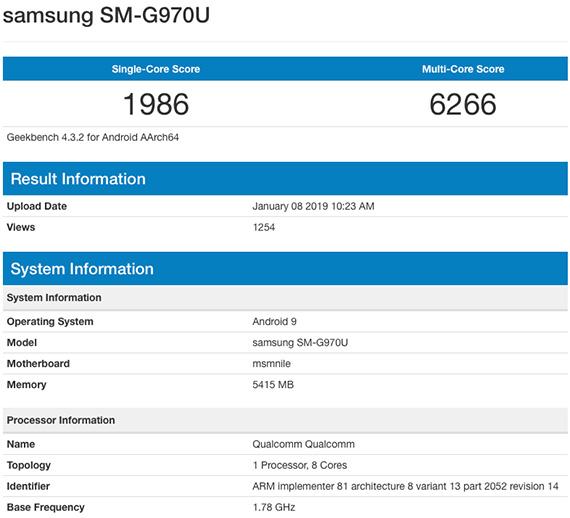 Το Galaxy S10 Lite εμφανίστηκε με Snapdragon 855 και 6GB RAM στο Geekbench;
