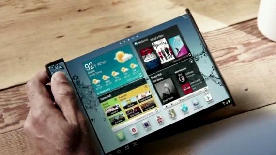 Η Samsung μετά το αναδιπλούμενο Galaxy F, ετοιμάζει συσκευή που να τυλίγεται;