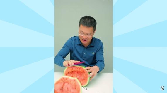 xiaomi ceo smashes watermelon 570px