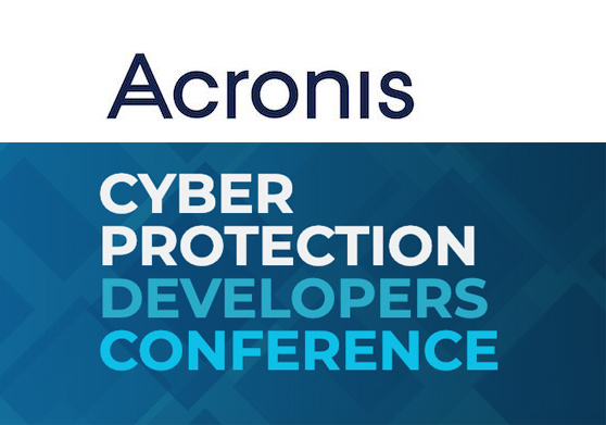 Acronis Cyber Protection Developers Conference Sofia 2019