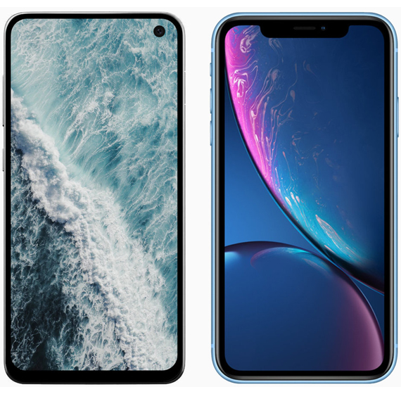 Galaxy S10E vs iPhone XR