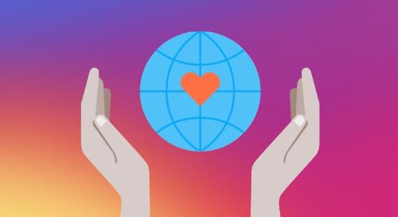 Το Instagram προσθέτει donate button