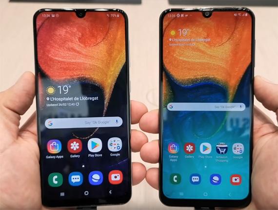 Samsung Galaxy A30 και Galaxy A50 hands-on