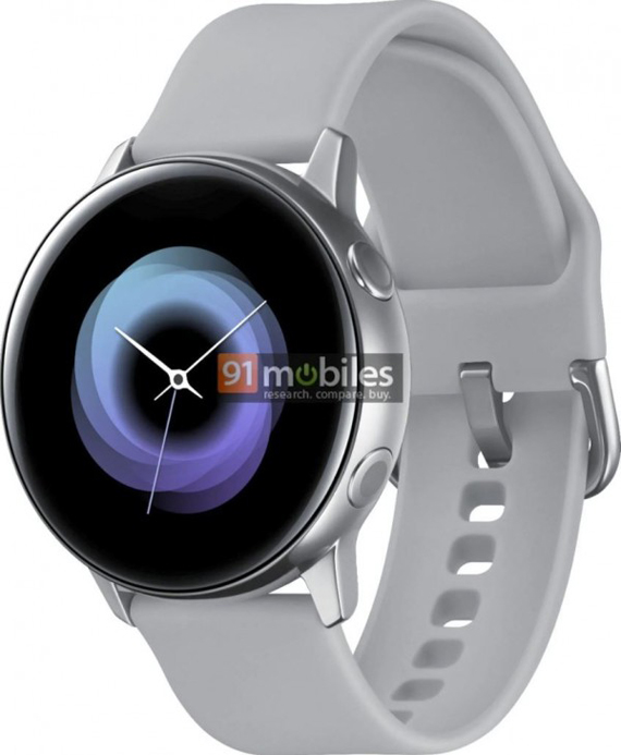 Samsung Galaxy Sport watch leaked