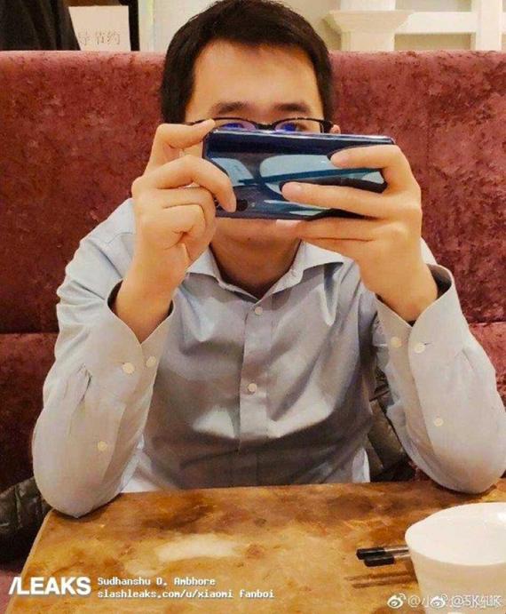 Xiaomi Mi 9 spy photo