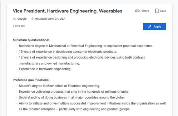 Η Google σχεδιάζει να κυκλοφορήσει δικό της smartwatch;