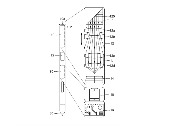 noteSPenPatent
