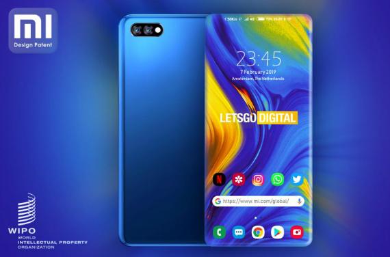 Xiaomi: Πατέντα με τέσσερις κυρτές πλευρές στην οθόνη