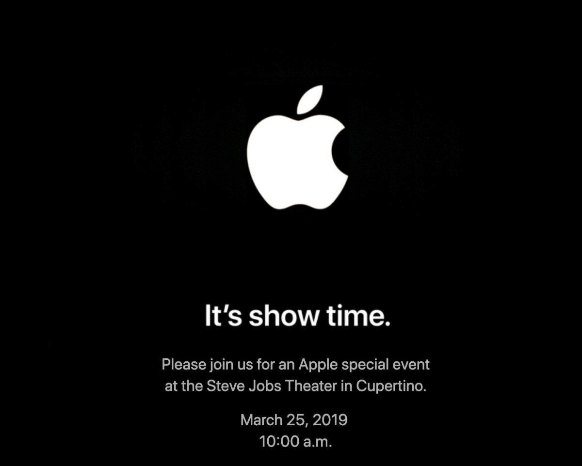 Apple event στις 25 Μαρτίου: It's show time