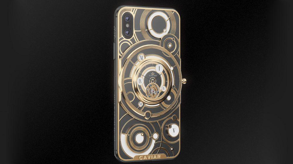 Συλλεκτικά iPhone XS και iPhone XS Max αξίας χιλιάδων ευρώ, με ενσωματωμένο κουρδιστό ρολόι
