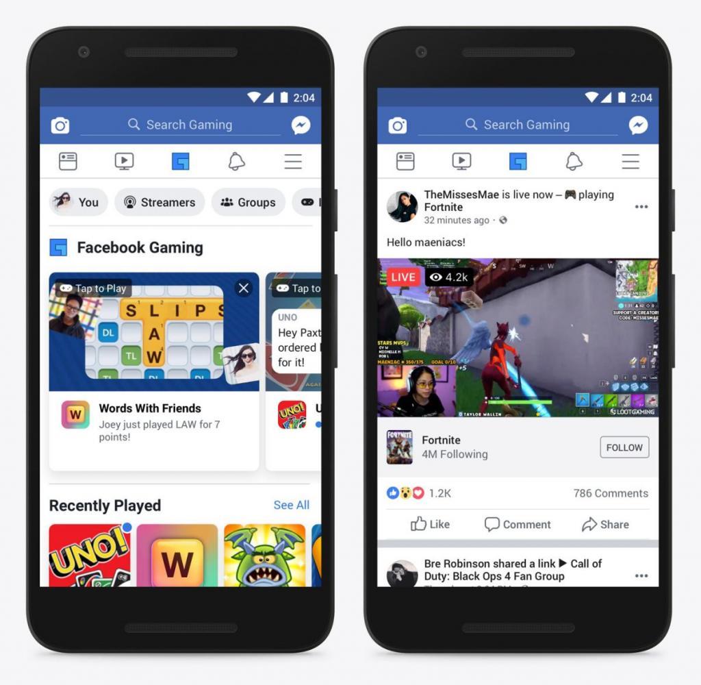 Facebook: Προσθέτει Gaming Tab στο application και θα τρελάνει κόσμο