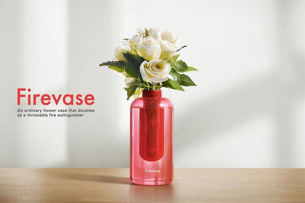 Firevase: Το βάζο της Samsung που χρησιμεύει για το σβήσιμο πυρκαγιών