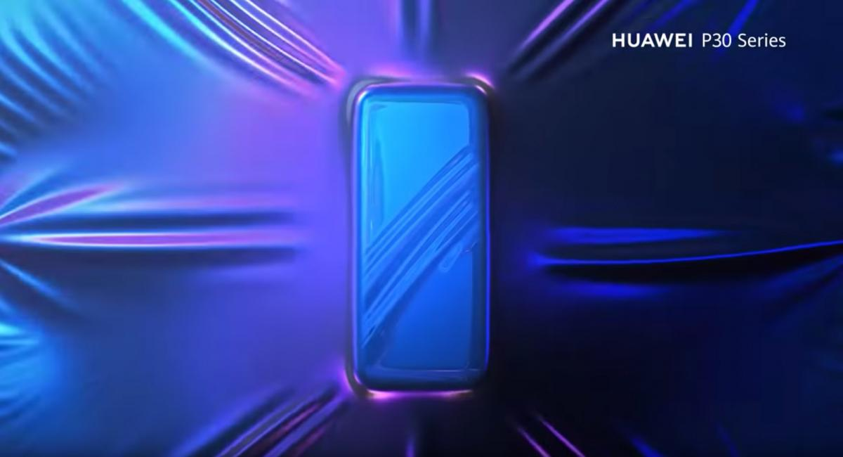 Huawei P30 teaser video