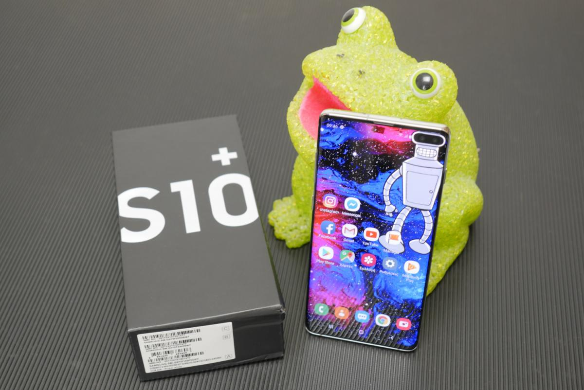Samsung Galaxy S10+ ελληνικό hands-on review