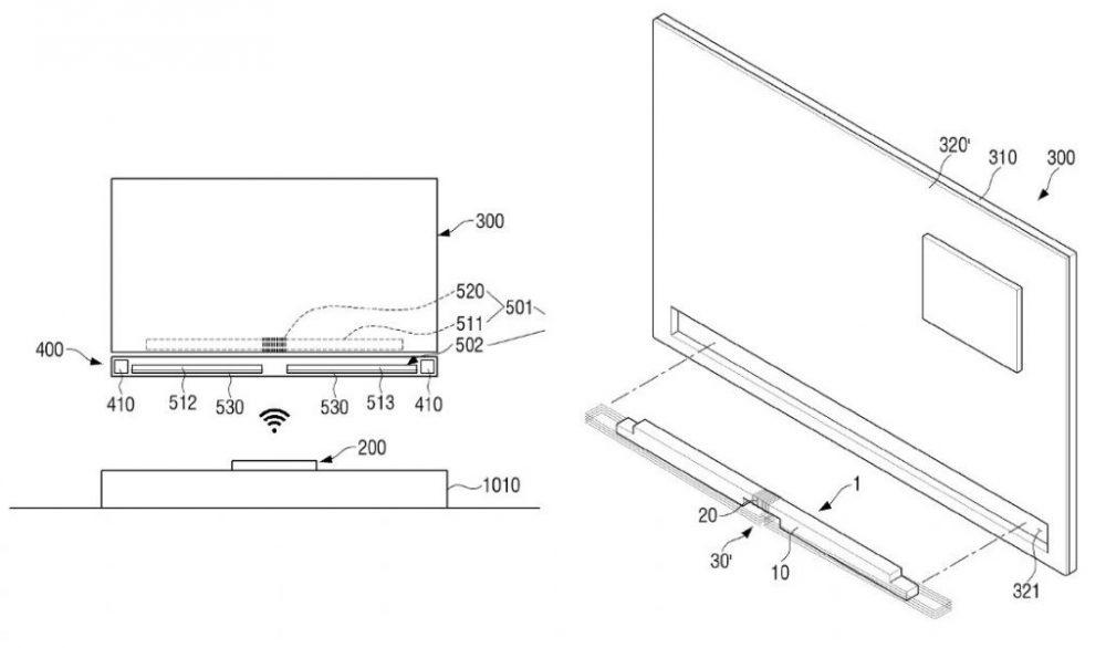 Η Samsung ετοιμάζει τηλεόραση χωρίς καλώδια και με ασύρματη φόρτιση
