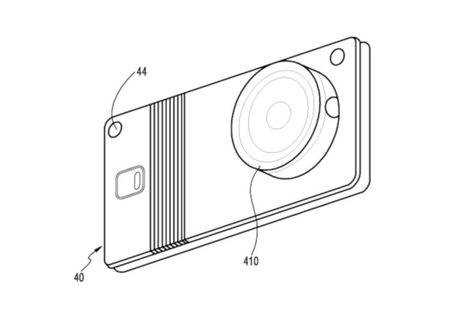 Η Samsung φαντάζεται foldable smartphones με αποσπώμενη κάμερα