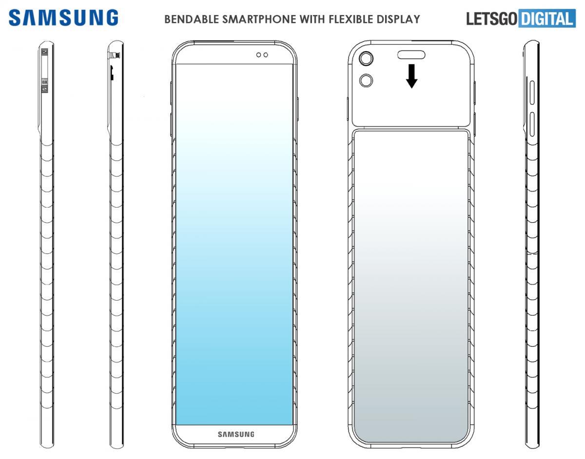 Πατέντα της Samsung για smartphone που φοριέται στον καρπό