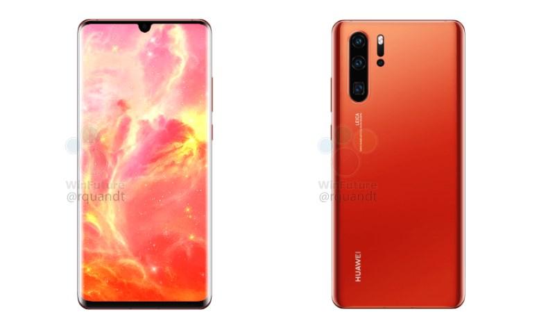 Huawei P30 και P30 Pro: Νέα render αποκαλύπτουν νέο χρώμα