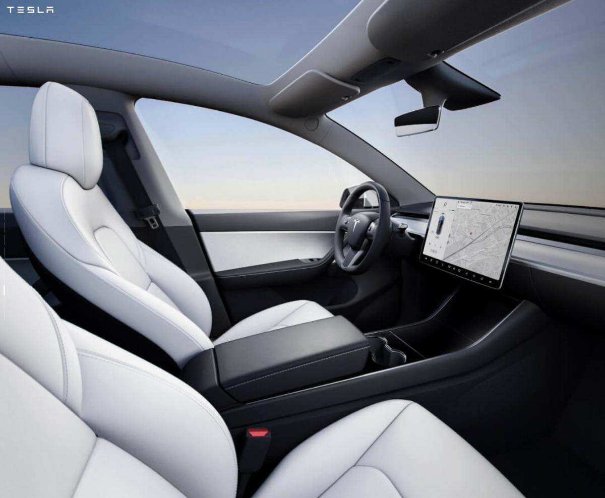 Tesla Model Y revealed