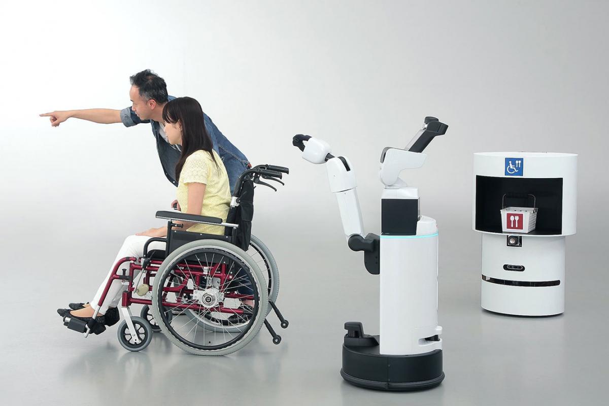 Toyota και Panasonic δημιούργησαν ρομπότ για τους Ολυμπιακούς Αγώνες του 2020
