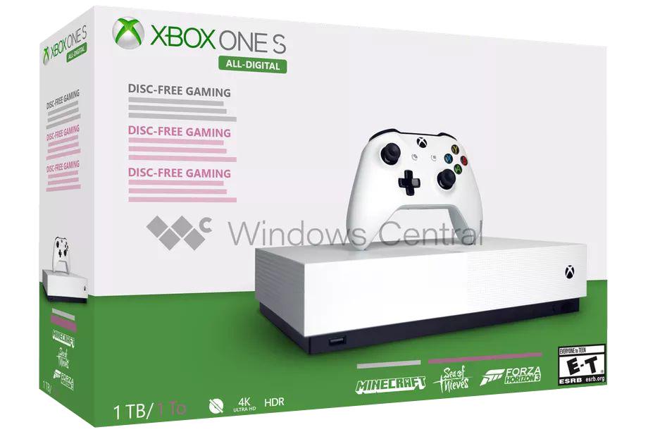 Xbox One S All-Digital Edition: 7 Μαΐου κυκλοφορεί η disk-less κονσόλα